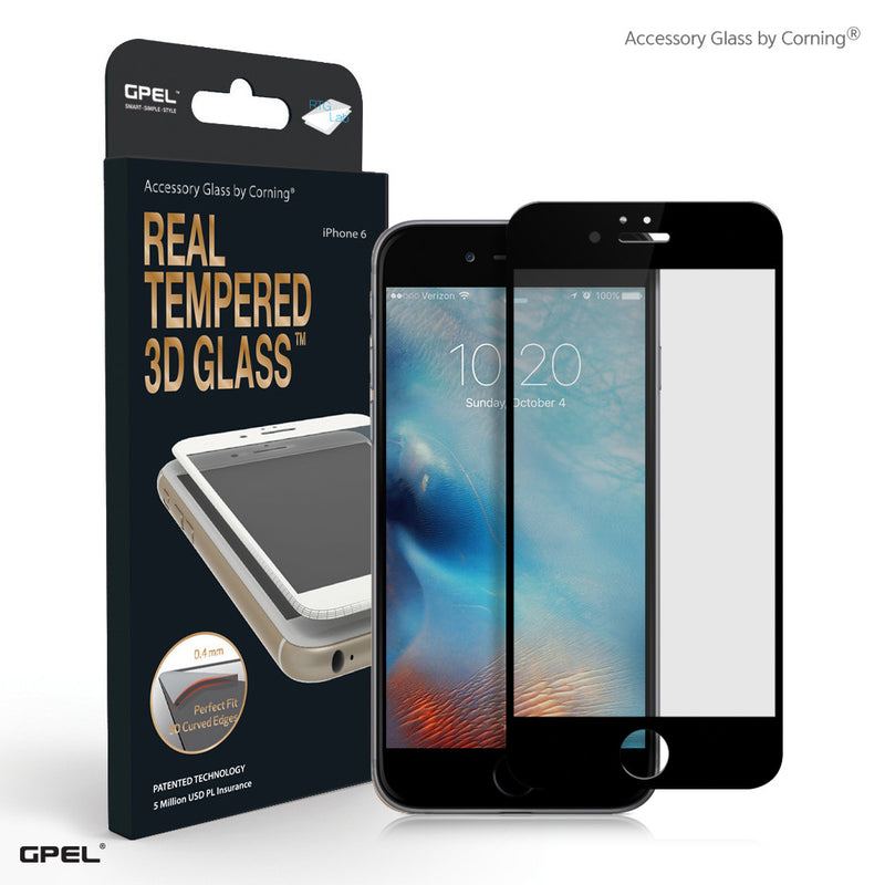 iPhone 6|6S Full Coverage Accessory Glass by Corning® Screen Protector