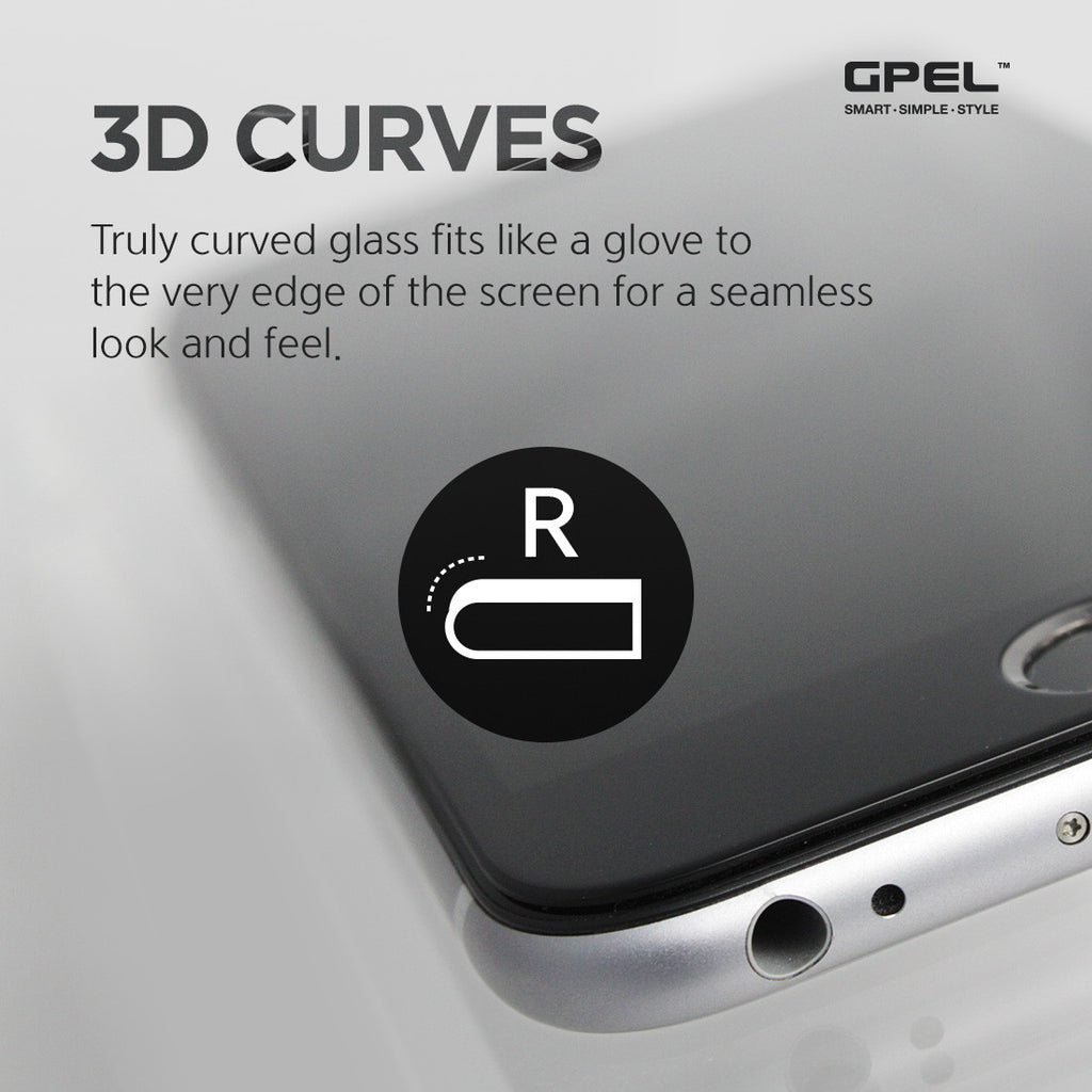 iPhone 6 | 6s Plus Screen Protector - Privacy 3D Curved Tempered Glass