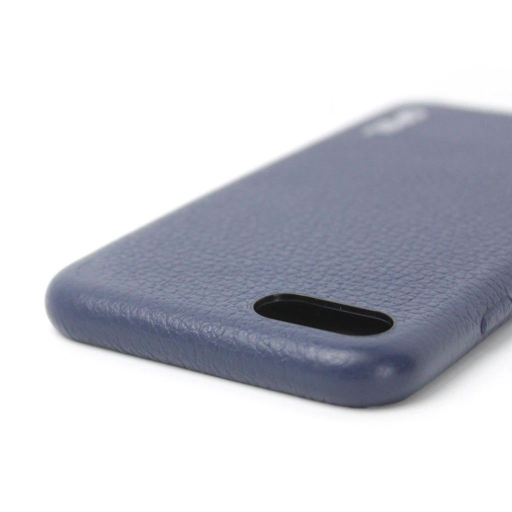 iPhone 7 Case GPEL Real Leather - Navy