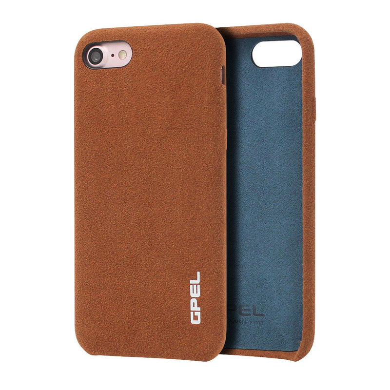iPhone 8 GPEL Leather™ Chamois - Brown