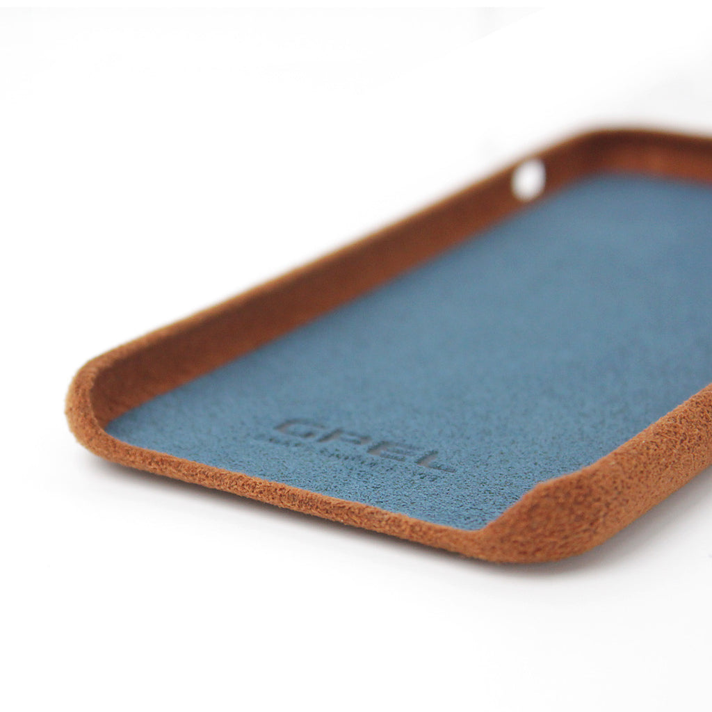 iPhone 7 GPEL Leather™ Chamois - Brown