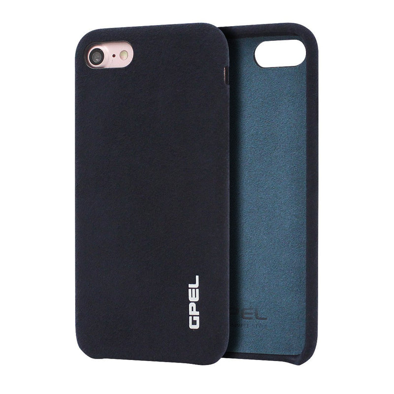 iPhone 8 GPEL Leather™ Chamois – Navy