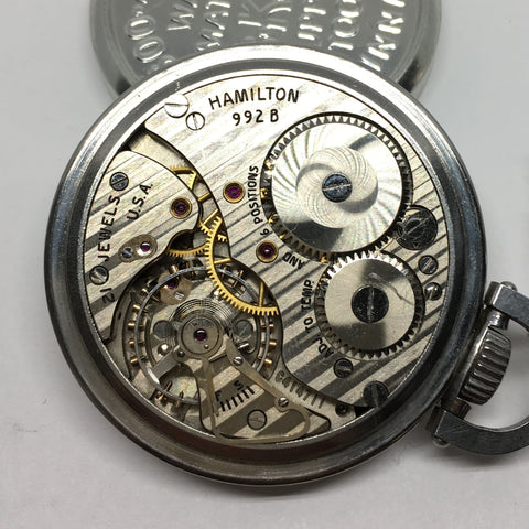 Hamilton 992B railroad movement