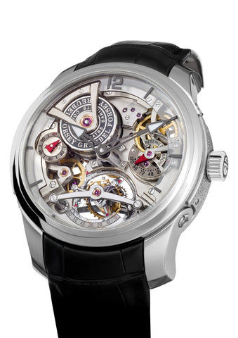 Skeletonized Double Tourbillon Watch