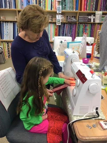 Mommy & Me Sew Together Class