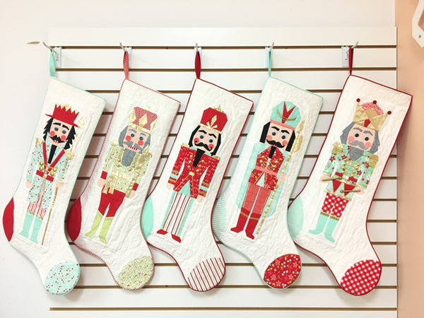 Paper Pieced Nutcrackers