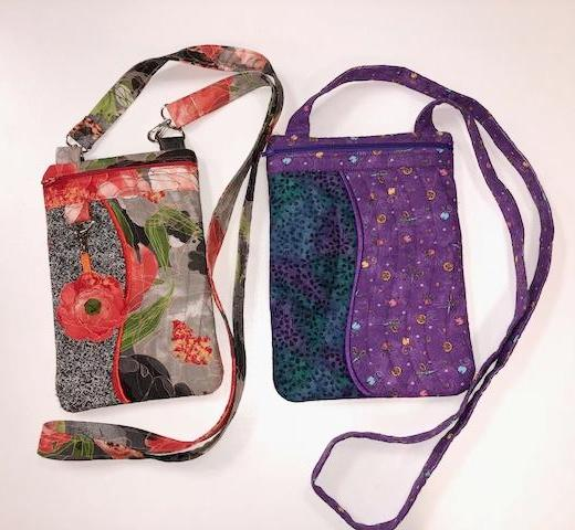 Sew Trendy Cross  Body Bag In the Hoop