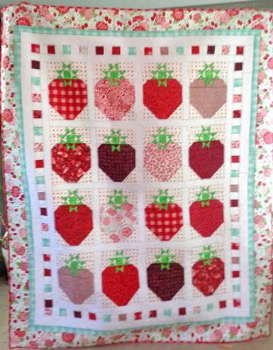 Strawberry Farm Quilt