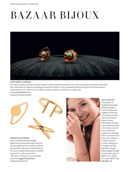Harper's Bazaar UK Women's Gold Ring Maggie Richmond Feature