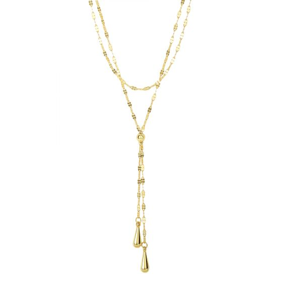 s gold men mariner necklace white flat chain dp mens