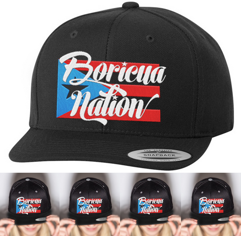 Boricua Nation Hat | Gifts
