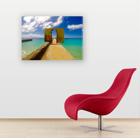 Crashboat Beach Aguadilla - Canvas (Shipping Included)