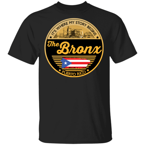 Bronx My Story | 5.3 oz. T-Shirt