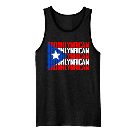 Brooklyn Flag - Mens Tank