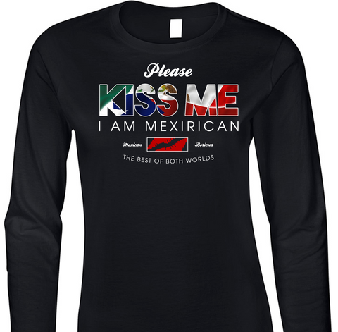MexiRican Kiss Me