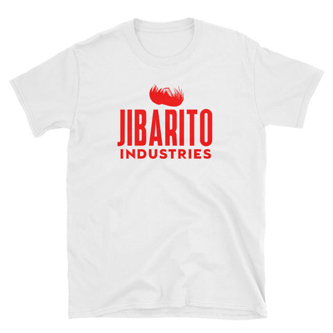 Jibarito Industries | Red Short-Sleeve Unisex T-Shirt