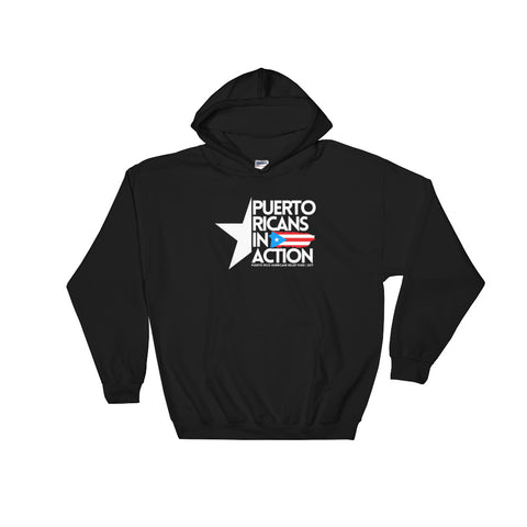 Puerto Ricans in Action | Hooded Sweatshirt