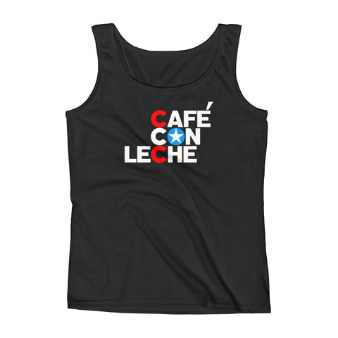 Cafe Con Leche Ladies' Tank