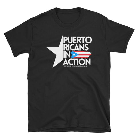 PR In Action | PR Hurricane Relief Fund | Unisex T-Shirt