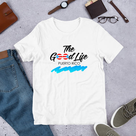 The Good Life PR | Short-Sleeve Unisex T-Shirt