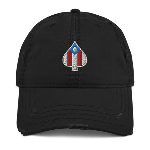 Boricua Ace | Distressed Dad Hat