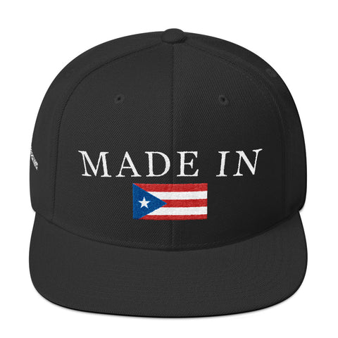 Made In PR | Snapback Hat