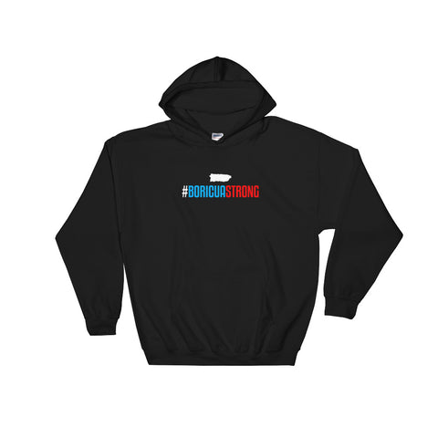 Boricua Strong | Hooded Sweatshirt