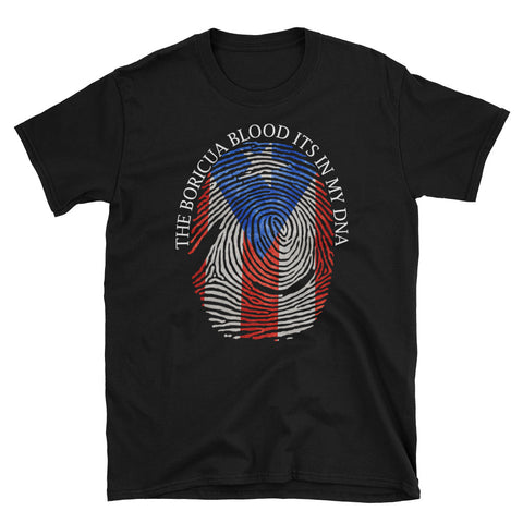 The Boricua Blood Its In My DNA | Short-Sleeve Unisex T-Shirt