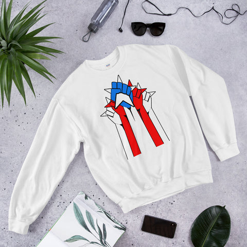 Rican Power Flag | Unisex Sweatshirt