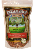 Texas Native Pecan Halves - Sprouted Mesquite Smoked