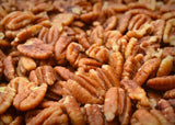 Texas Native Pecan Halves - Sprouted Organic Practice Unsprayed Wild-harvested Family Recipe Sea Salt Crispy