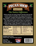 Texas Native Pecan Fresh Shelled Raw Wild Certified Pesticide Free Back