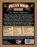 Texas Native Pecan Soaked Raw Wild Certified Pesticide Free Mesquite Smoked Back