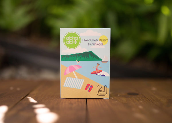 "Aloha Aid Bandaids ""Fun in The Sun"" Box #2"