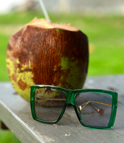 SUSTYLE COCONUT SUNGLASSES