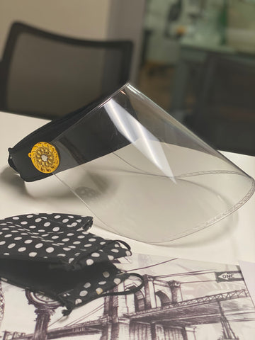 Sustyle Acrylic Faceshield -Versace version
