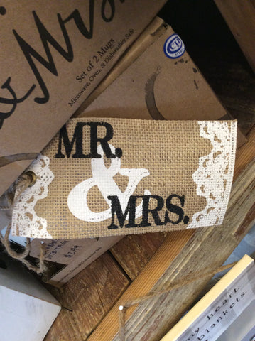 Mr. and Mrs.  Jute tag