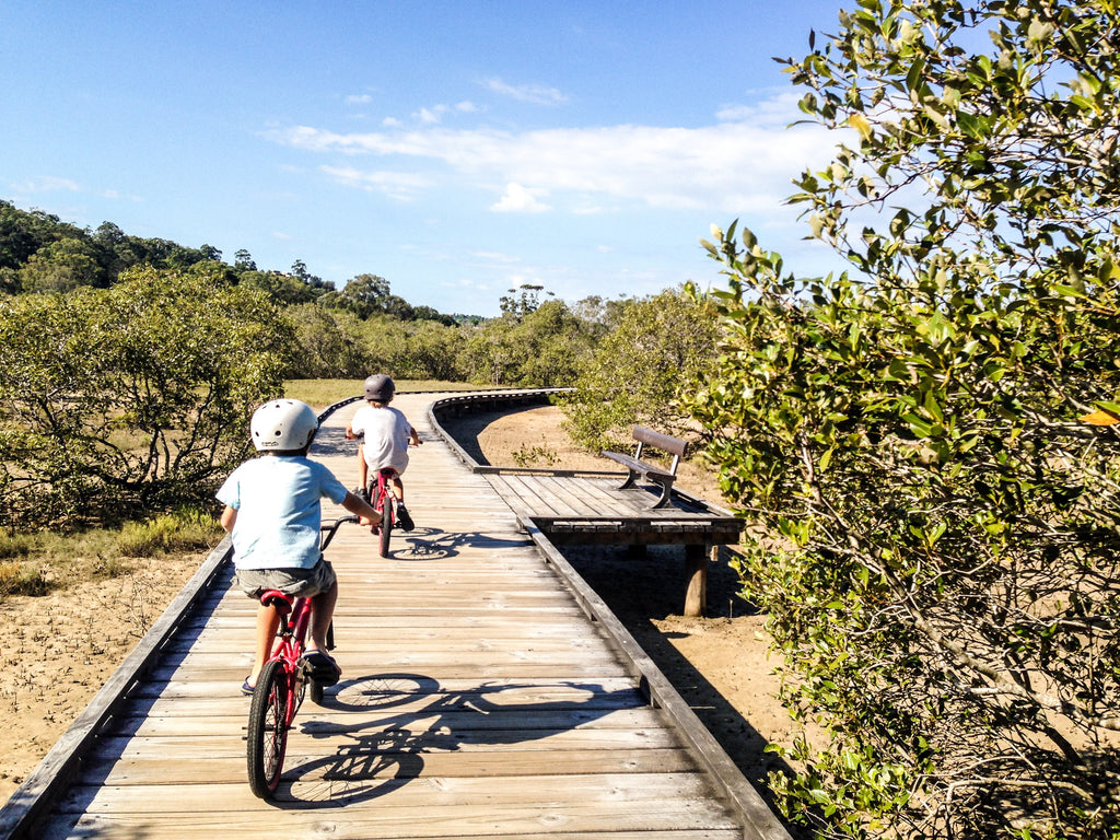 Hire bikes and get the kids exploring these school holidays