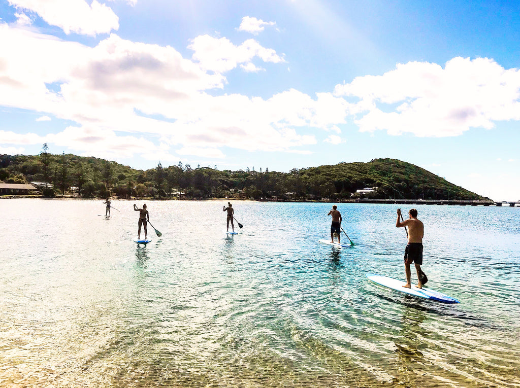Why we love stand up paddling in winter on the Gold Coast