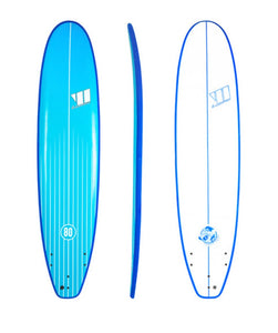 Soft Surfboard Hire Gold Coast - 8' Soft Board
