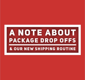 A note about new shipping routines
