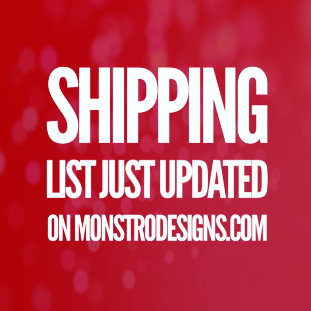 Shipping list update