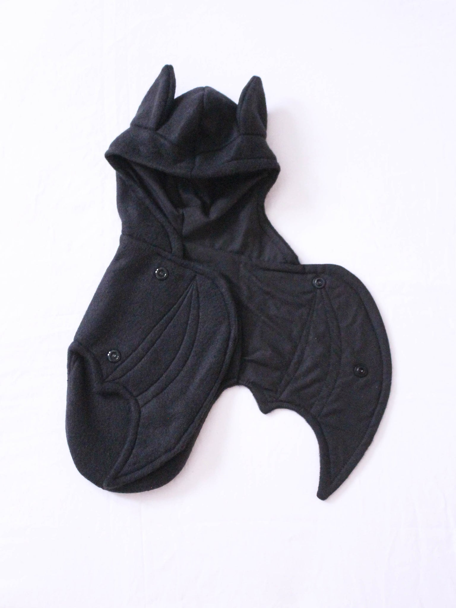 Blythe doll Solid Black bat wrap Ready to Ship - Monstro Designs
