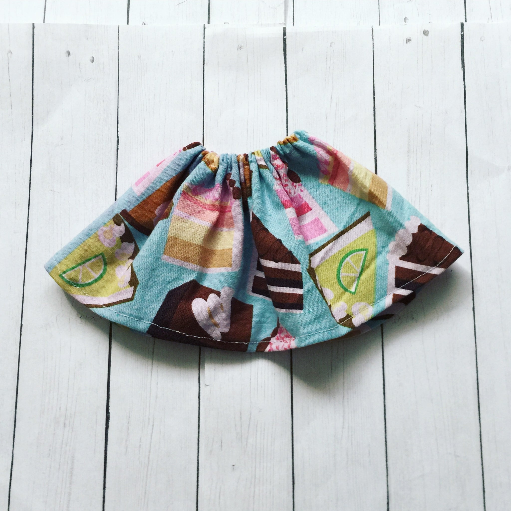 FLASH SALE Key lime pie elastic waist skirt for Minifee - Monstro Designs