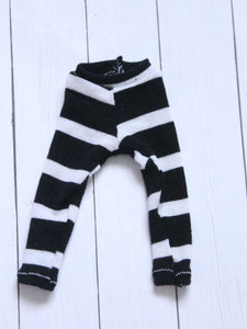 FLASH SALE black stripe leggings for YOSD - Monstro Designs
