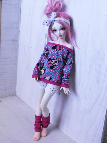 Vintage Minnie 80's set for Minifee Ready to Ship - Monstro Designs