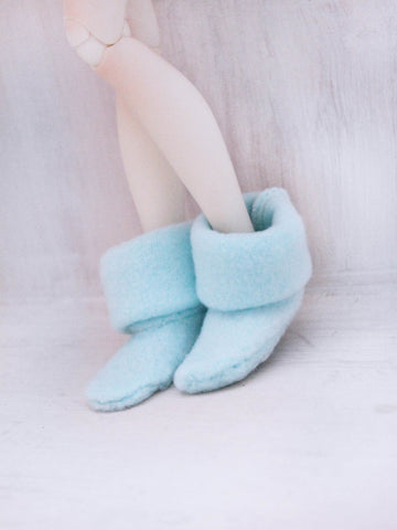 MSD BJD Fairy boots in Mint - Monstro Designs