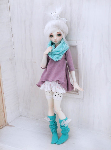Pastel kawaii layered set for Minifee Ready to Ship - Monstro Designs