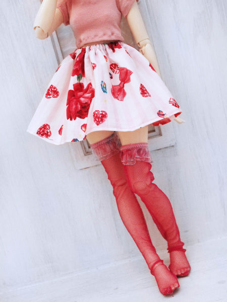 Pink Diamond lolita skirt for Minifee READY to SHIP - Monstro Designs