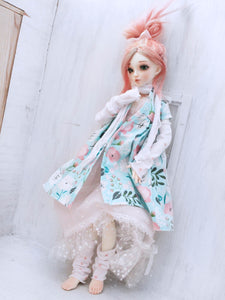Limited Edition Pastel Mori dresses set for Minifee Ready to Ship - Monstro Designs